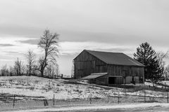 Vieille grange rurale Photo libre de droits