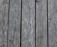 Vieille, grise texture en bois Photographie stock libre de droits