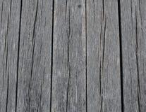 Vieille, grise texture en bois Images stock
