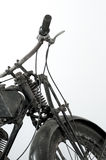 Vieille guerre II de moto Images stock