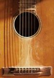 Vieille guitare Photographie stock