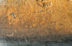 Vieille hache rouillée en métal Images libres de droits