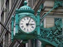 Vieille horloge élégante Photo libre de droits