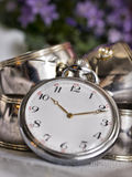 Vieille horloge Photos stock