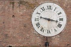 Vieille horloge Images libres de droits