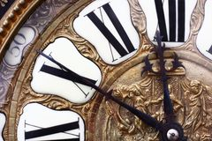 Vieille horloge Images stock