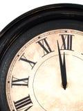 Vieille horloge Photo libre de droits