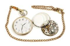 Vieille horloge antique Images stock