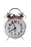 Vieille horloge d'alarme Photographie stock