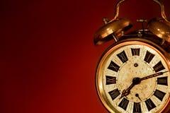 Vieille horloge d'alarme Photos stock