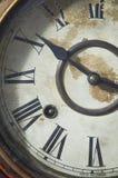Vieille horloge de classique de vintage Images libres de droits