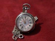 Vieille horloge de poche Image libre de droits