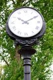 Vieille horloge de rue photos libres de droits