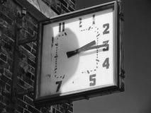Vieille horloge de rue Images stock
