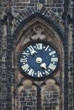 Vieille horloge de tour Image stock