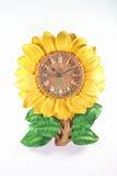 Vieille horloge de tournesol. Images libres de droits