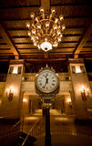 Vieille horloge de vapeur Images libres de droits