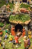Vieille huche de Noël Photo libre de droits