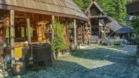 Vieille hutte images libres de droits