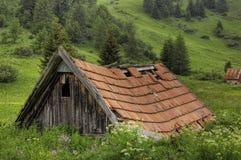 Vieille hutte Photo libre de droits