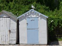 Vieille hutte de plage de mode Photographie stock libre de droits