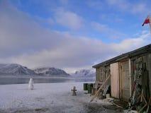 Vieille hutte de trappeur Photos libres de droits