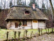 Vieille hutte en bois XVII de siècle Image stock