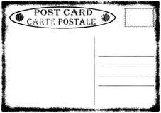 Vieille Illustration Grunge Blanc De Carte Postale Illustration de Vecteur - Illustration du ...