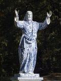 Vieille image du Christ dans le style moderne Images stock