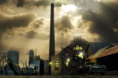 Vieille industrie Images stock