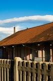 Vieille industrie dans Aosta Images stock