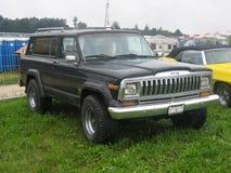 Vieille jeep Images libres de droits