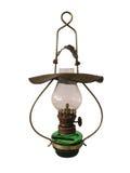 Vieille lampe à pétrole antique Images stock