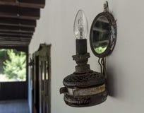 Vieille lampe Photo stock