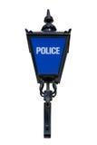 Vieille lampe bleue de police Images libres de droits