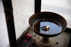 Vieille lampe chinoise Image libre de droits