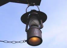 Vieille lampe de gaz image libre de droits