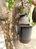 Vieille lampe de lanterne Photos stock