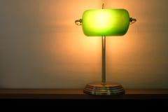 Vieille lampe de table Image stock