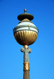 Vieille lampe de ville Photographie stock libre de droits