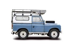 Vieille Land Rover Images stock