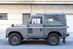 Vieille Land Rover Photos libres de droits