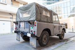 Vieille Land Rover Photo stock