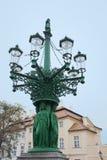 Vieille lanterne à Prague Photographie stock libre de droits