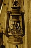 Vieille lanterne âgée de gaz Images libres de droits