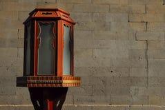 Vieille lanterne chinoise Photo libre de droits