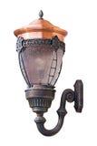 Vieille lanterne d'isolement de rue Photos libres de droits