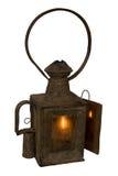 Vieille lanterne de chemin de fer Image libre de droits