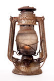 Vieille lanterne de kérosène Photo stock