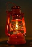 Vieille lanterne de pétrole Image libre de droits